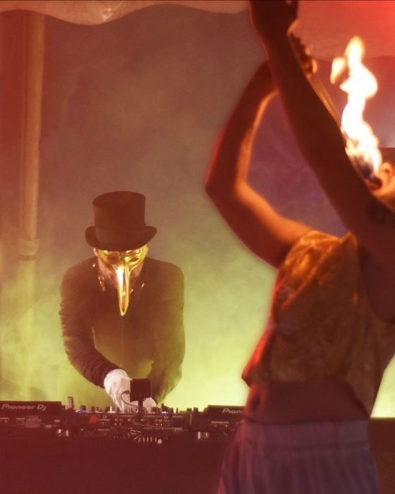 Music producer Claptone reveals new song 'Claptone In The Circus'