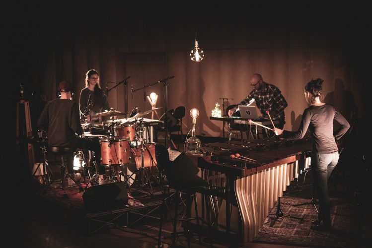 Electronic meets digital as Medium Douce share live music video