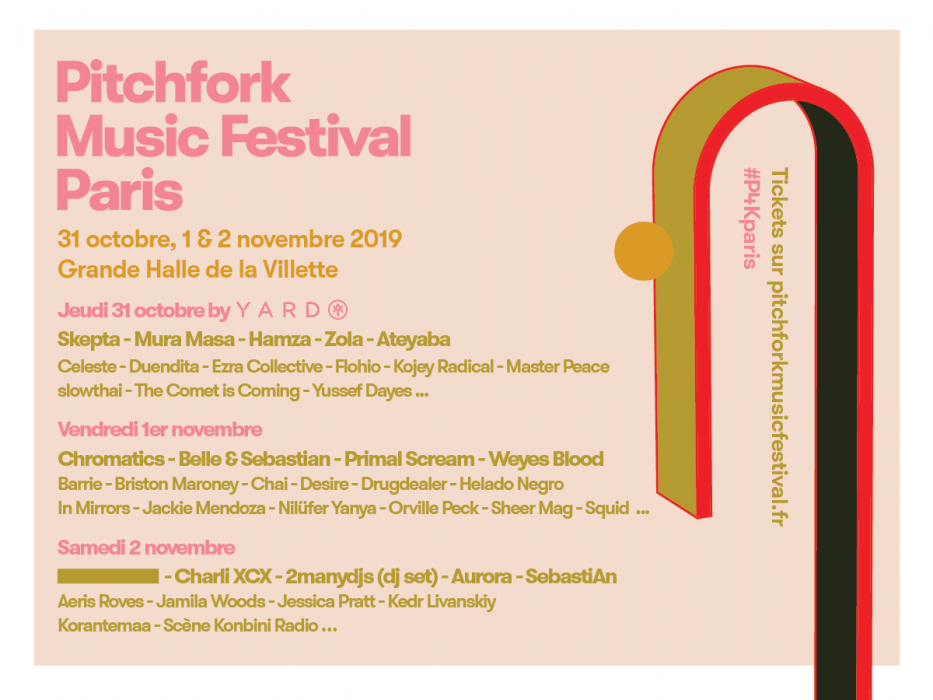 Pitchfork Music Festival Paris announces stellar lineup