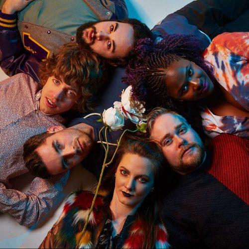 Experimental Irish Neo-soul quintet, Shookrah, unleash neon-lit music video for latest dizzying single 'Flex'