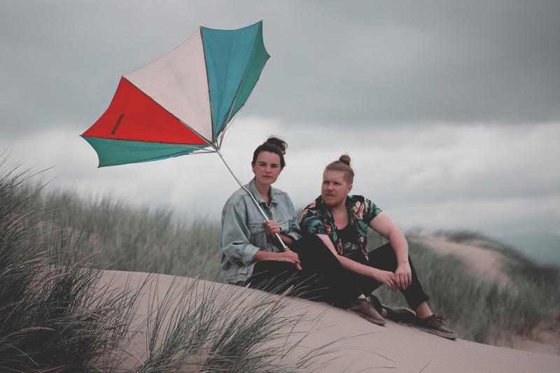 Indie-pop duo Firewoodisland share Alphaville song cover