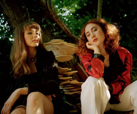 Electropop duo Let's Eat Grandma share new song in the last three years